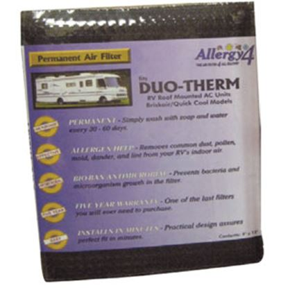 "Picture of Allergy 4 Allergy 4 0.4""W x 9.5""L x 12""H Air Conditioner Filter 06384 69-0265"