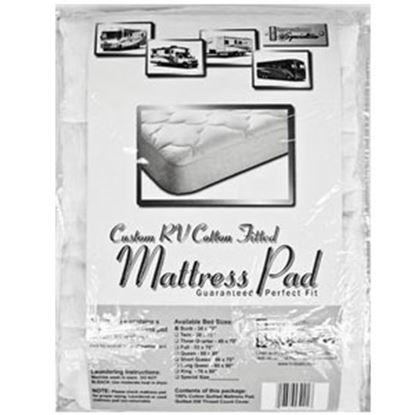 Picture of Custom Recreation  Padded King Mattress Pad RV76X80/100%MP 69-1167