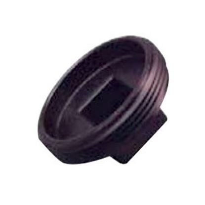 "Picture of Lasalle Bristol  Black ABS 1-1/2"" MPT Cleanout Plug 633051 69-6016"