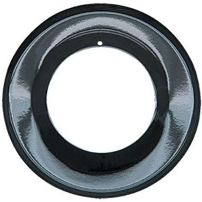"""Picture of Range Kleen  3.625""""ID x 6.875""""OD Black Porcelain Stove Burner Liner P-200 69-7052"""