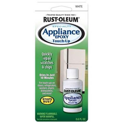 Picture of Rust-Oleum Stops Rust (R) 0.6Oz Gloss White Bottle Paint 203000 69-7122