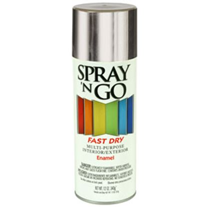 Picture of Rust-Oleum Spray N Go 12Oz Gray Spray Can Paint 51100830 69-7124