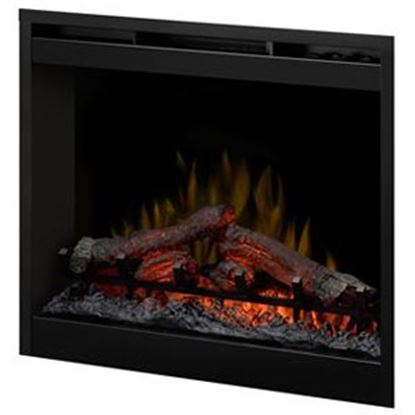 "Picture of Wesco Dimplex 26.5""x26.5"" Electric Fireplace Insert  69-8056"