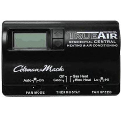 Picture of Coleman-Mach  Black 2-Stage Heat Digital Wall Thermostat 6535-3442 69-8714