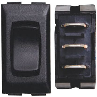 Picture of Diamond Group  3-Pack Black 20A/12V 5-Pin SPST Momentary Slide Out Switch DGF112PB 69-8842