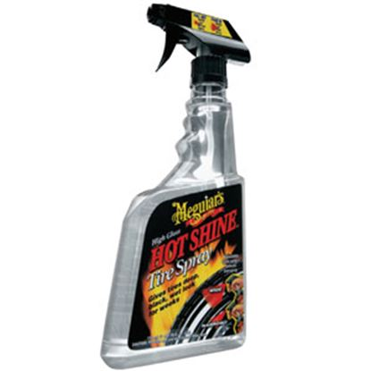 Picture of Meguiars Hot Shine (TM) 24 Ounce spray Hotshine Tire Dressing G12024 69-9280