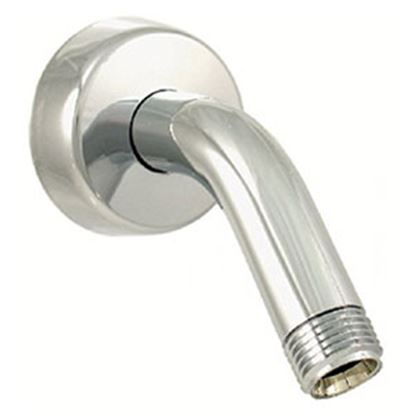"Picture of Phoenix Faucets  1/2"" Chrome Plated Plastic Shower Head Arm & Flange PF285001 70-7606"