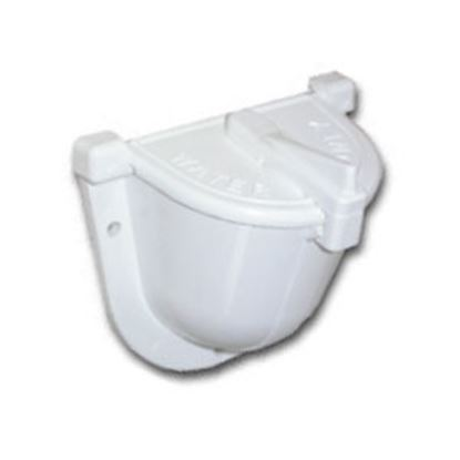 Picture of Zebra  Colonial White Fill Spout w/ Hinged Cover Fresh Water Inlet  71-0083