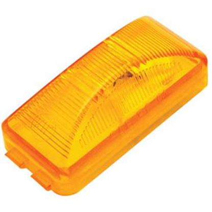 "Picture of Diamond Group  Amber 2-1/2""W x 1-1/4""H x 7/8"" Thick Side Marker Light WP-1258AF 71-2598"