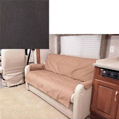 "Picture of CoverCraft Canine Covers (R) SofaSaver Gray 60""x18"" RV Sofa Cover SRS001GY 71-2658"