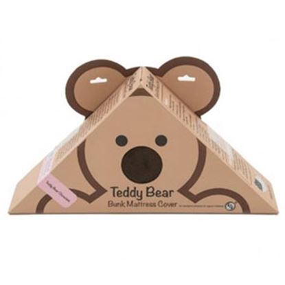 "Picture of Lippert Teddy Bear Bunk Series Chocolate PU Synthetic Fiber 32""X74""X4""D Bunk Mattress Protector 679299 71-5386"