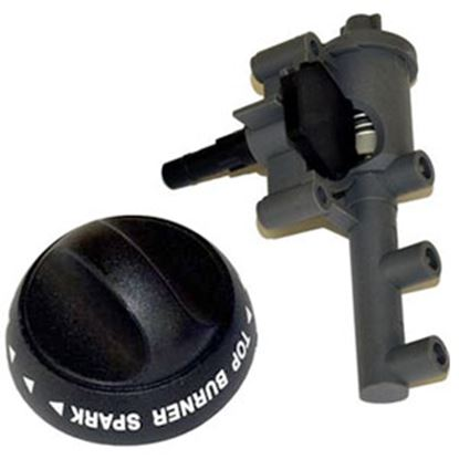 Picture of Suburban  Piezo Igniter Control Knob for Suburban 521139 73-0004