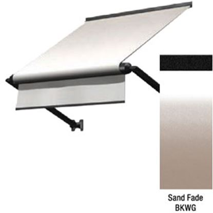 "Picture of Lippert Solara Sand Fade Vinyl 54""L X 18""Ext Manual Window Awning V000335057 90-2301"
