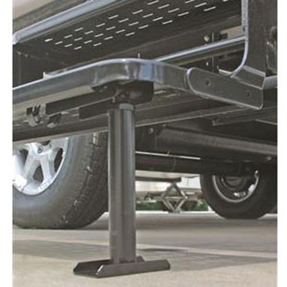 "Picture of Camco  8-1/2""-14"" Black Steel Entry Step Stabilizer 43671 96-2842"